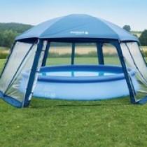 Пошаговая инструкция, как сделать шатер для бассейна своими руками