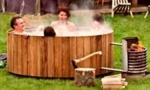 Из чего и как сделать нагреватель для бассейна на дровах своими руками?
