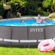 Какие формы и размеры каркасных бассейнов Интекс существуют?