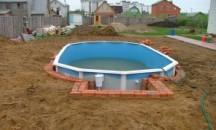 Подробная инструкция, как заглубить каркасный бассейн