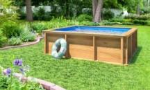 Руководство к действию: как соорудить каркас из дерева для бассейна своими руками