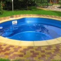 Средняя цена композитных бассейнов и монтажных работ