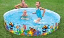 Обзор детских бассейнов с жесткими бортами: характеристики, цены, мнения пользователей