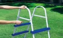 Пошаговое руководство, как собрать лестницу для бассейна Bestway