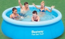 Пошаговая инструкция, как правильно собрать и чем надувать бассейн Bestway