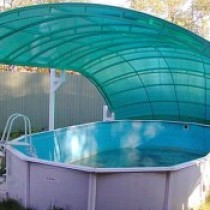 Как выбрать, где приобрести и изготовить самостоятельно купол для каркасного бассейна?