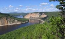 Описание бассейна реки Лена