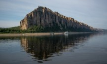От истока до устья: постоянно меняющаяся ширина реки Лена