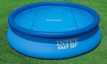 Достоинства и недостатки, виды, советы по использованию покрывал для бассейна Intex
