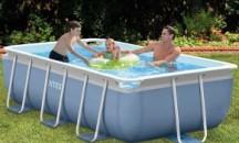 Обзор прямоугольных каркасных бассейнов: достоинства и недостатки, модели и цены, мнения пользователей