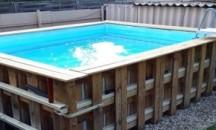 Как самостоятельно изготовить бассейн из поддонов?