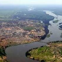 Основные притоки реки Нил, правые и левые, их названия