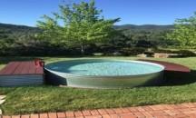 Когда стоит выбрать небольшой бассейн для дачи и какие есть популярные модели?