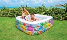 Обзор детских надувных бассейнов: описание и характеристики, стоимость, мнения пользователей