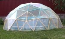 Пошаговая инструкция по самостоятельному изготовлению купола для бассейна из пленки, альтернативы и где купить