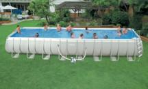 Обзор самых больших бассейнов Интекс