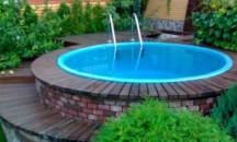 Пошаговая инструкция по изготовлению подиума для бассейна своими руками на даче