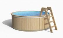 Преимущества лестницы из дерева для бассейна и как ее сделать своими руками