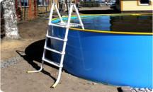 Руководство по изготовлению лестницы для бассейна из пластиковых труб своими руками