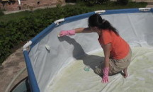 Зачем нужна обработка бассейна альгицидом перед заполнением и как ее провести?