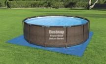 Назначение, правила выбора и использования, модели подстилок под бассейн Bestway