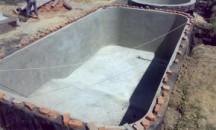 Дельные рекомендации, как залить бассейн из бетона своими руками
