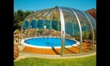 Особенности выбора купола для бассейна из поликарбоната и можно ли сделать своими руками