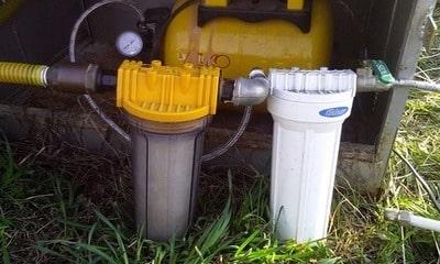 Установка фильтров тонкой очистки воды