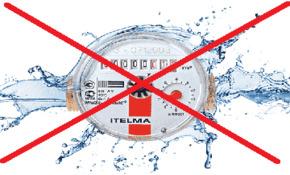 Не работает счетчик горячей воды куда обращаться
